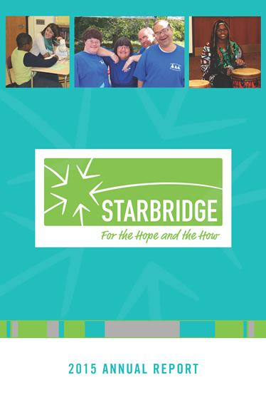 Starbridge Annual Report 2015 cover