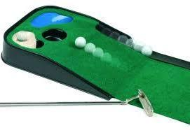 image of indoor putting mat