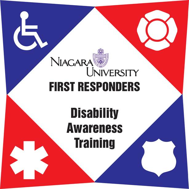 Niagara U First Responders Disability Awareness Training logo